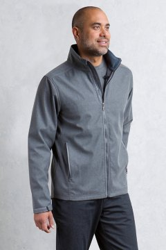 Mackenzie Jacket L/S, Grey Heather, medium