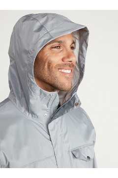 Men's Lagoa Jacket, Sleet, medium
