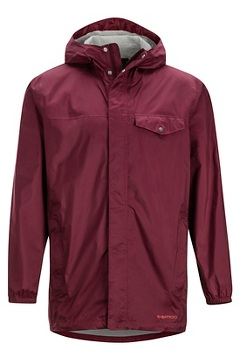 Men's Lagoa Jacket, Port, medium