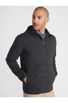 Men's Pargo Insulated Hoody, Black, medium