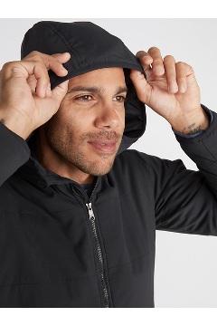 Men's Pargo Insulated Hoody, Black, medium