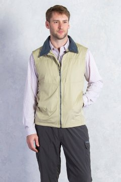 FlyQ Vest, Lt Khaki, medium