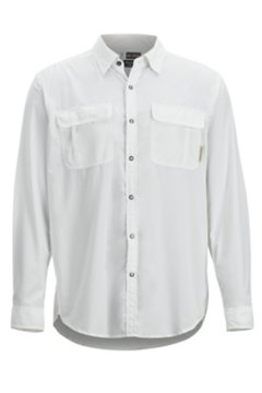 BugsAway Halo LS Shirt, White, medium