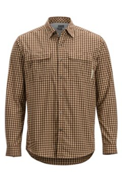 BugsAway Halo Check LS Shirt, Retro Red, medium