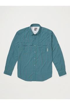 Men's BugsAway Halo Check Long-Sleeve Shirt, Ponderosa, medium
