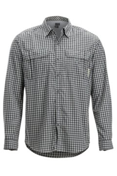 BugsAway Halo Check LS Shirt, Grey, medium