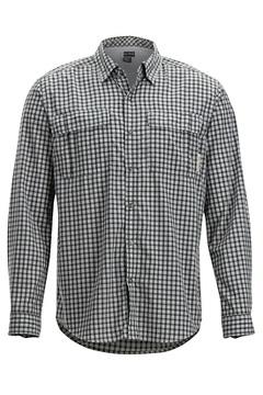 BugsAway Halo Check LS Shirt, Grey, medium