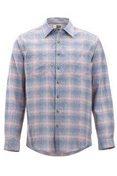 BugsAway Poros Plaid L/S, Admiral, medium