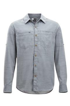 Men's BugsAway San Gil Long-Sleeve Shirt, Navy, medium