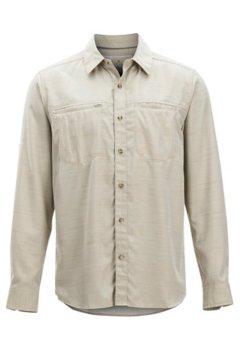 BugsAway San Gil LS Shirt, Lt Khaki, medium