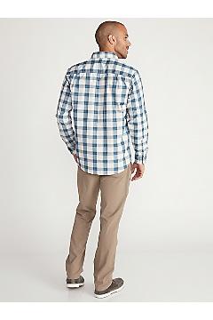 Men's BugsAway Covas Long-Sleeve Shirt, Blue Bell, medium