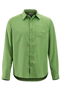 Men's BugsAway Covas Long-Sleeve Shirt, Wheatgrass, medium