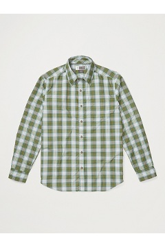 Men's BugsAway Covas Long-Sleeve Shirt, Alpine Green, medium