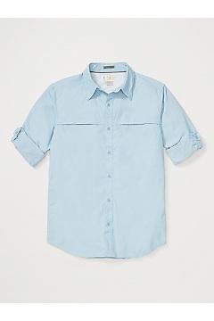 Men's BugsAway Gallatin Long-Sleeve Shirt, Aleutian, medium