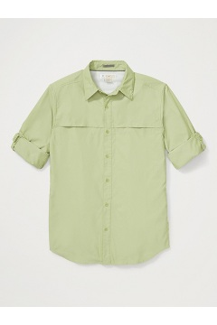 Men's BugsAway Gallatin Long-Sleeve Shirt, Wheatgrass, medium