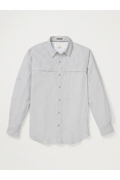 Men's BugsAway Gallatin Long-Sleeve Shirt, Grey Storm, medium