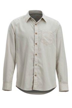 BugsAway Corfu LS Shirt, Lt Stone, medium