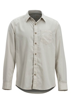 Men's BugsAway Corfu Long-Sleeve Shirt, Lt Stone, medium