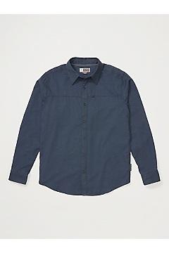 Men's BugsAway Talaheim Long-Sleeve Shirt, Navy, medium