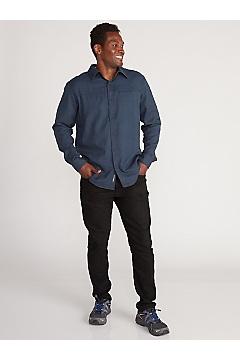 Men's BugsAway Talaheim Long-Sleeve Shirt, Brown Stone, medium