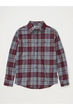 Men's BugsAway Redding Midweight Flannel Shirt, Vineyard, medium