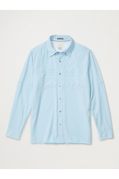 Men's BugsAway Tiburon Long-Sleeve Shirt, Blue Bell, medium
