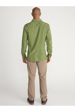 Men's BugsAway Tiburon Long-Sleeve Shirt, Alpine Green, medium