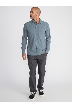 Men's BugsAway Tiburon Long-Sleeve Shirt, Stormy Weather, medium
