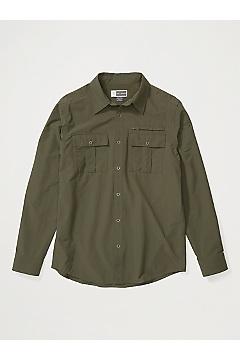 Men's BugsAway Arcan Long-Sleeve Shirt, Nori, medium