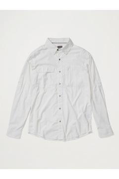 Men's BugsAway Halo Long-Sleeve Shirt, White, medium