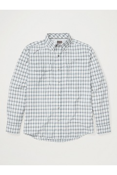 Men's BugsAway Halo Long-Sleeve Shirt, Platinum, medium