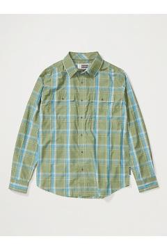 Men's BugsAway Ashford Long-Sleeve Shirt, Alpine Green Heather, medium