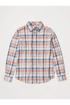 Men's BugsAway Panamint Long-Sleeve Shirt, Clementine, medium