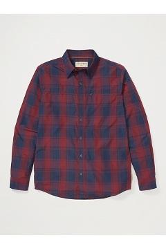 Men's BugsAway Panamint Long-Sleeve Shirt, Vineyard, medium