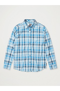 Men's BugsAway Panamint Long-Sleeve Shirt, Clear Blue, medium