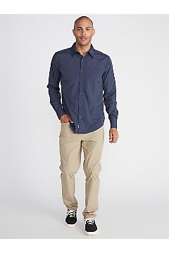 Men's BugsAway Panamint Long-Sleeve Shirt, Clear Blue, medium