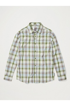 Men's BugsAway Panamint Long-Sleeve Shirt, Alpine Green, medium