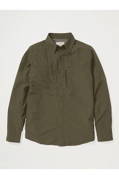Men's BugsAway Parkes UPF 30 Long-Sleeve Shirt, Nori, medium