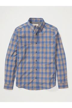 Men's BugsAway Monto UPF 50 Long-Sleeve Shirt, Admiral Blue, medium