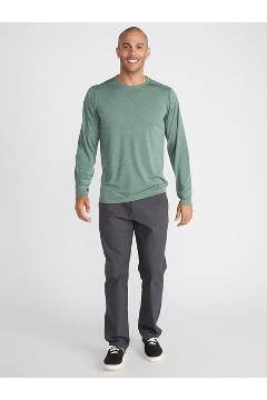 Men's BugsAway Tarka Long-Sleeve Shirt, Alpine Green, medium
