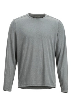 Men's BugsAway Tarka Long-Sleeve Shirt, Grey Storm, medium