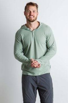 BugsAway Lumos Knit Hoody, Dusty Sage, medium
