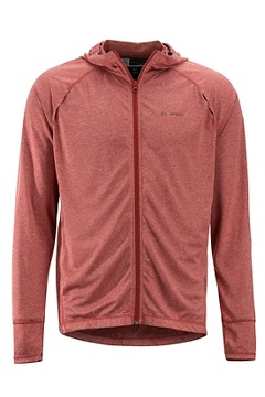 Men's BugsAway Tarka Full-Zip Hoody, Retro Red, medium