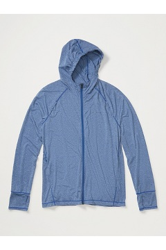 Men's BugsAway Tarka Full-Zip Hoody, Admiral Blue, medium