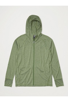 Men's BugsAway Tarka Full-Zip Hoody, Alpine Green, medium