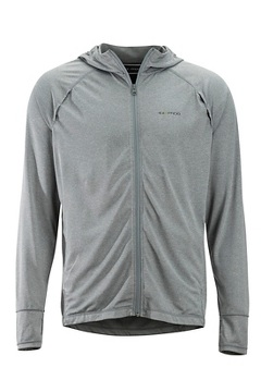 Men's BugsAway Tarka Full-Zip Hoody, Grey Storm, medium