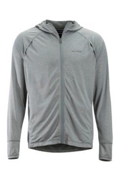 BugsAway Tarka Full Zip Hoody, Grey Storm, medium
