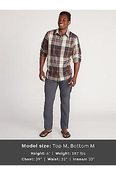 Men's BugsAway Five Rivers Long-Sleeve Shirt, Alpine Green, medium