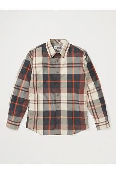 Men's BugsAway Five Rivers Long-Sleeve Shirt, Brown Stone, medium