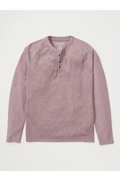 Men's BugsAway Coledale Henley Long-Sleeve Shirt, Vineyard, medium